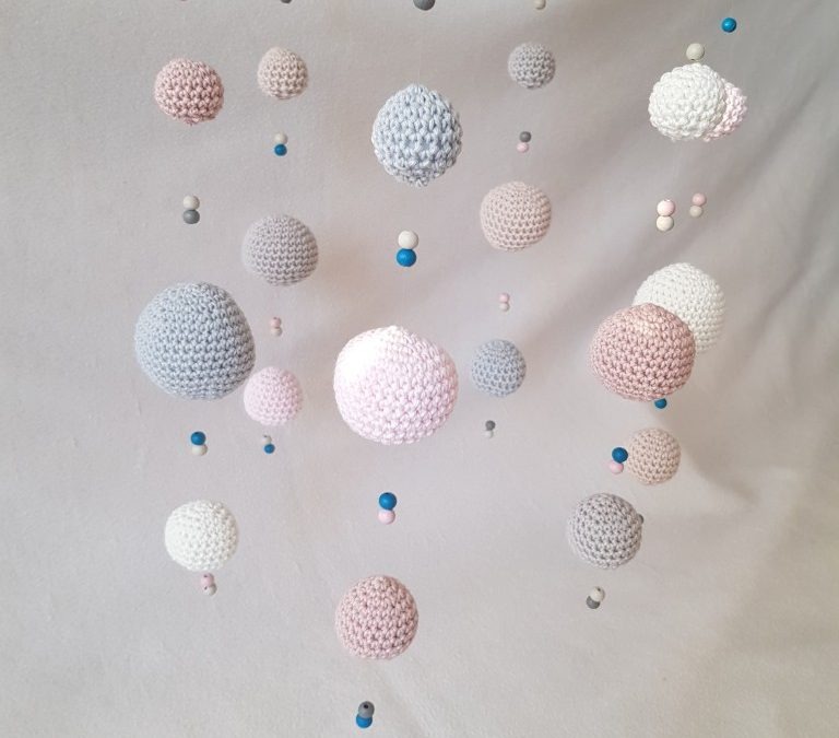 Baby Mobile – Balls and beads
